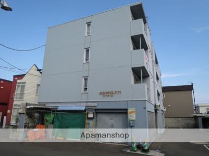 北海道札幌市西区、発寒駅徒歩13分の築14年 4階建の賃貸マンション