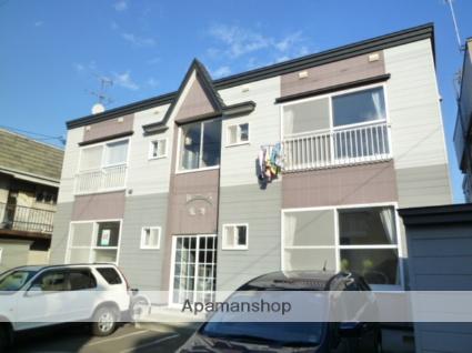 北海道札幌市西区、発寒中央駅徒歩8分の築21年 2階建の賃貸アパート