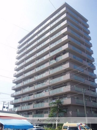 北海道札幌市中央区、西線6条駅徒歩4分の築17年 13階建の賃貸マンション