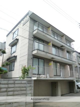 北海道札幌市西区、琴似駅徒歩10分の築15年 4階建の賃貸アパート
