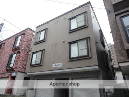 北海道札幌市西区、琴似駅徒歩10分の築14年 3階建の賃貸アパート