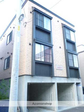 北海道札幌市西区、発寒中央駅徒歩6分の築9年 3階建の賃貸アパート