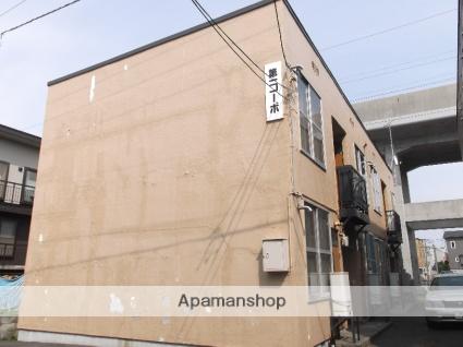 北海道札幌市北区、新川駅徒歩2分の築24年 2階建の賃貸アパート