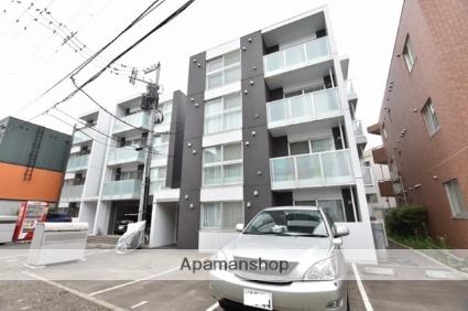 北海道札幌市西区、発寒中央駅徒歩11分の築4年 4階建の賃貸マンション