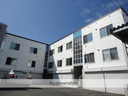 北海道札幌市西区の築10年 3階建の賃貸アパート