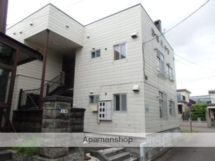北海道札幌市中央区、二十四軒駅徒歩15分の築39年 2階建の賃貸アパート