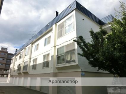 北海道札幌市西区、琴似駅徒歩20分の築29年 3階建の賃貸アパート