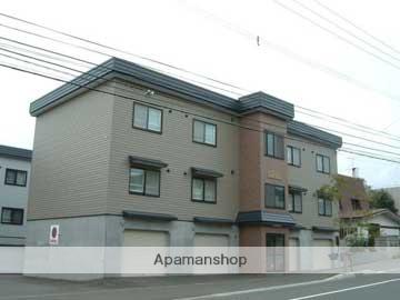 北海道札幌市西区の築14年 3階建の賃貸アパート