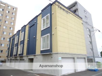 北海道札幌市中央区、桑園駅徒歩15分の築12年 2階建の賃貸アパート