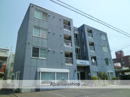 北海道札幌市西区、琴似駅徒歩11分の築27年 4階建の賃貸マンション