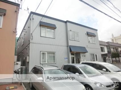 北海道札幌市西区、琴似駅徒歩11分の築13年 2階建の賃貸アパート