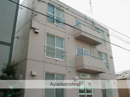 北海道札幌市中央区、西28丁目駅徒歩10分の築33年 3階建の賃貸マンション