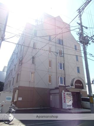 北海道札幌市中央区、札幌駅徒歩13分の築27年 5階建の賃貸マンション