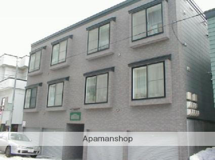 北海道札幌市中央区、琴似駅徒歩20分の築19年 3階建の賃貸アパート