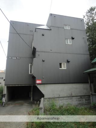 北海道札幌市西区、琴似駅徒歩8分の築23年 3階建の賃貸アパート