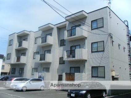 北海道札幌市西区、宮の沢駅徒歩13分の築13年 3階建の賃貸マンション