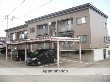 北海道札幌市西区の築12年 2階建の賃貸アパート