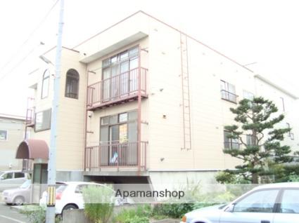 北海道札幌市西区、発寒中央駅徒歩15分の築25年 3階建の賃貸アパート