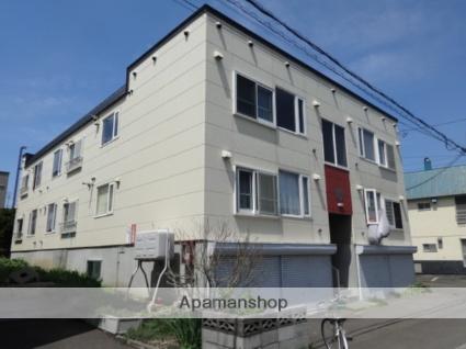 北海道札幌市西区の築24年 3階建の賃貸アパート