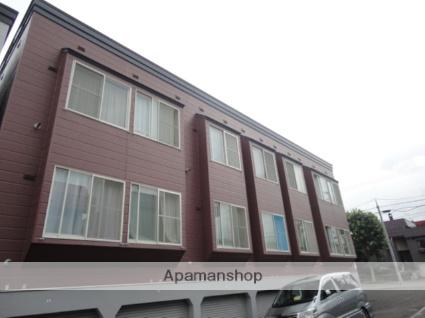 北海道札幌市西区、宮の沢駅徒歩19分の築29年 3階建の賃貸アパート