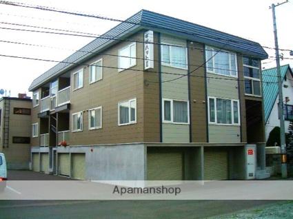 北海道札幌市西区、琴似駅徒歩6分の築20年 3階建の賃貸アパート