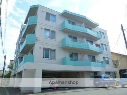 北海道札幌市西区、琴似駅徒歩16分の築28年 4階建の賃貸マンション