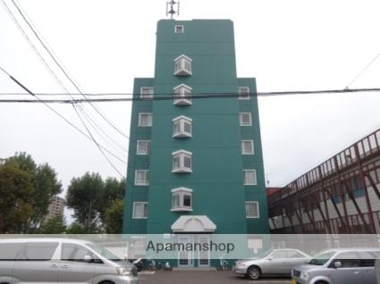 北海道札幌市西区、発寒中央駅徒歩15分の築26年 6階建の賃貸マンション