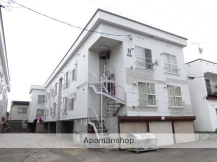 北海道札幌市西区、琴似駅徒歩7分の築32年 3階建の賃貸アパート