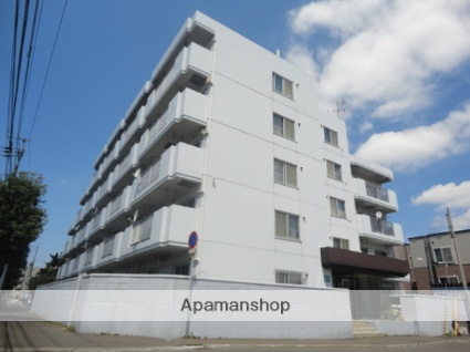 北海道札幌市西区、琴似駅徒歩20分の築30年 5階建の賃貸マンション