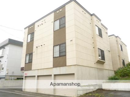 北海道札幌市西区、八軒駅徒歩9分の築13年 3階建の賃貸アパート