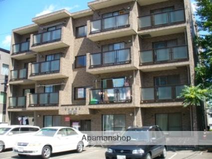 北海道札幌市西区、発寒中央駅徒歩18分の築20年 4階建の賃貸マンション