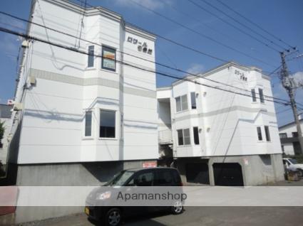 北海道札幌市西区、発寒中央駅徒歩8分の築26年 3階建の賃貸アパート