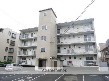 北海道札幌市西区、琴似駅JRバスバス6分山の手3条8丁目下車後徒歩7分の築43年 4階建の賃貸マンション