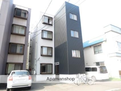 北海道札幌市中央区、桑園駅徒歩6分の築21年 4階建の賃貸マンション