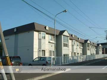 北海道札幌市西区の築24年 2階建の賃貸アパート