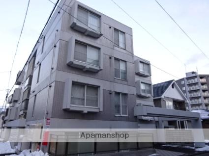 北海道札幌市中央区、二十四軒駅徒歩16分の築27年 4階建の賃貸マンション