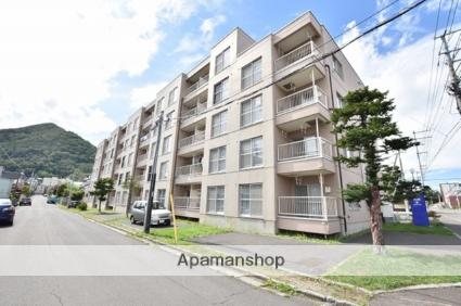 北海道札幌市西区、琴似駅JRバスバス4分山の手高校前下車後徒歩6分の築33年 5階建の賃貸マンション