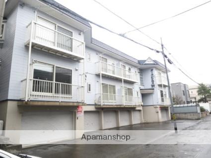 北海道札幌市西区、発寒南駅徒歩12分の築27年 3階建の賃貸アパート
