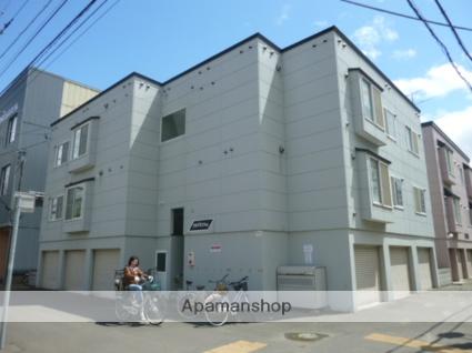 北海道札幌市中央区、桑園駅徒歩11分の築15年 3階建の賃貸アパート