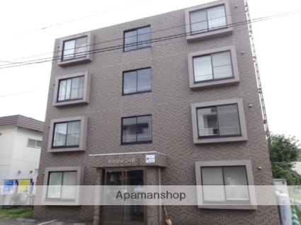 北海道札幌市西区、琴似駅徒歩16分の築13年 4階建の賃貸マンション