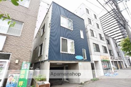 北海道札幌市西区、琴似駅徒歩17分の築13年 3階建の賃貸アパート