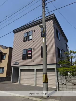 北海道札幌市西区、発寒中央駅徒歩16分の築12年 3階建の賃貸アパート