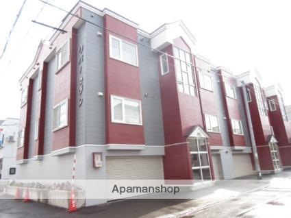 北海道札幌市西区、発寒中央駅徒歩15分の築23年 3階建の賃貸アパート
