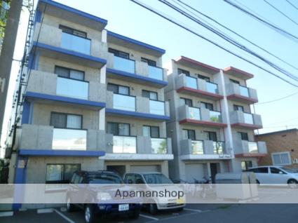 北海道札幌市西区、琴似駅徒歩16分の築9年 4階建の賃貸マンション