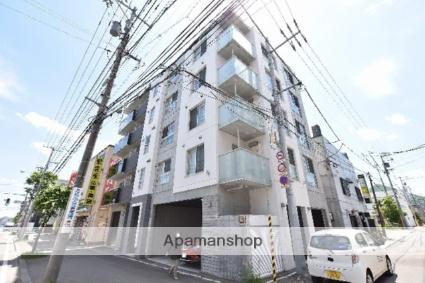北海道札幌市西区、琴似駅徒歩7分の築2年 5階建の賃貸マンション