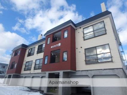 北海道札幌市西区、宮の沢駅JRバスバス20分平和1−5下車後徒歩5分の築25年 3階建の賃貸アパート