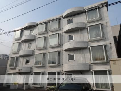 北海道札幌市西区、琴似駅徒歩10分の築26年 4階建の賃貸マンション