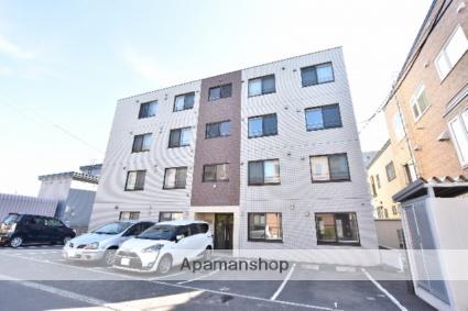 北海道札幌市西区、八軒駅徒歩9分の築7年 4階建の賃貸マンション