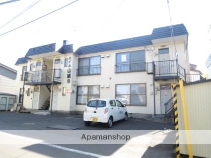 北海道札幌市西区、宮の沢駅JRバスバス12分西野6−8下車後徒歩1分の築33年 2階建の賃貸アパート