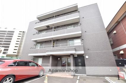 北海道札幌市西区、琴似駅徒歩16分の築2年 4階建の賃貸マンション
